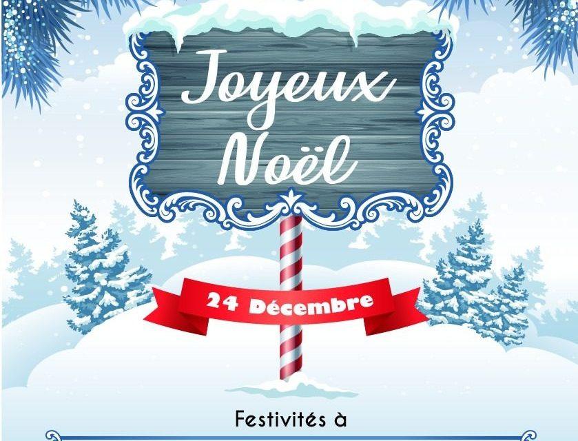 Venez fêter Noël à Auron