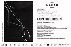 Rétrospective Lars Fredrikson au MAMAC