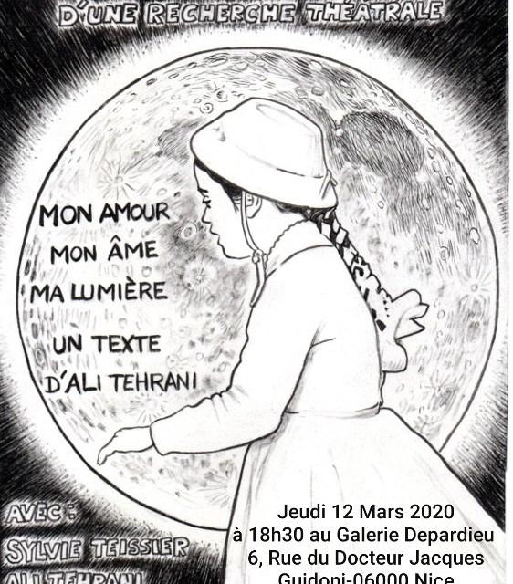 Lecture Mon amour, Mon âme, Ma lumière  par Ali Tehrani