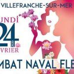 Combat Naval Fleuri à Villefranche-sur-Mer