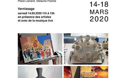Expo « Œuvres créées en résidence »: 4 artistes + musique live