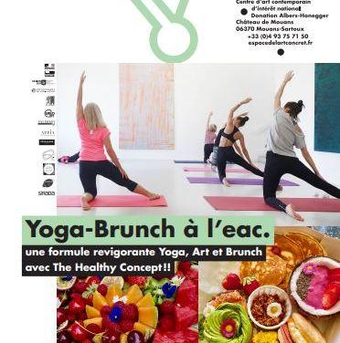 Yoga brunch à l'eac. de Mouans-Sartoux