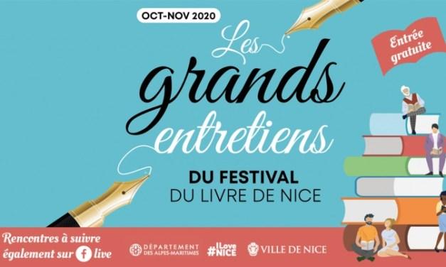 Les grands entretiens du Festival du Livre de Nice