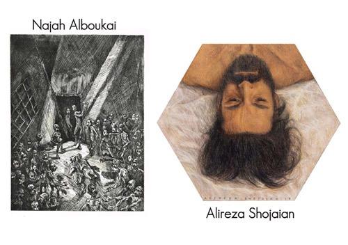 Exposition Najah Alboukai et Alireza Shojaian – Ombres d'hommes