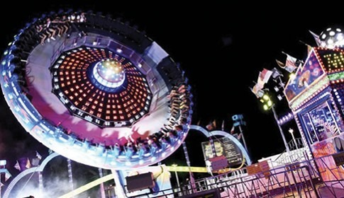 Foire d'été Luna Park à Cannes