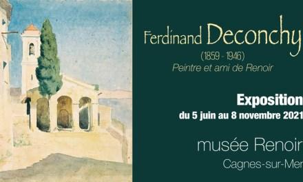 Exposition Ferdinand Deconchy à Cagnes-sur-Mer