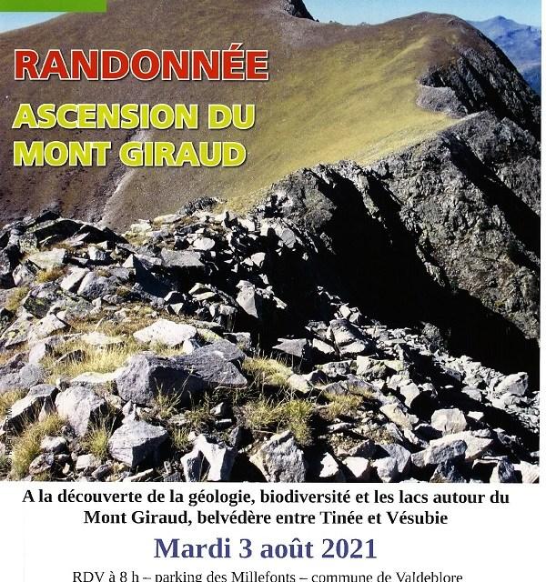 Randonnée PNM Mont Giraud