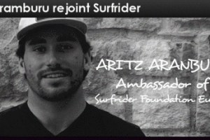 Aritz Aranburu, a professional surfer, has joined forces with Surfrider Foundation Europe.