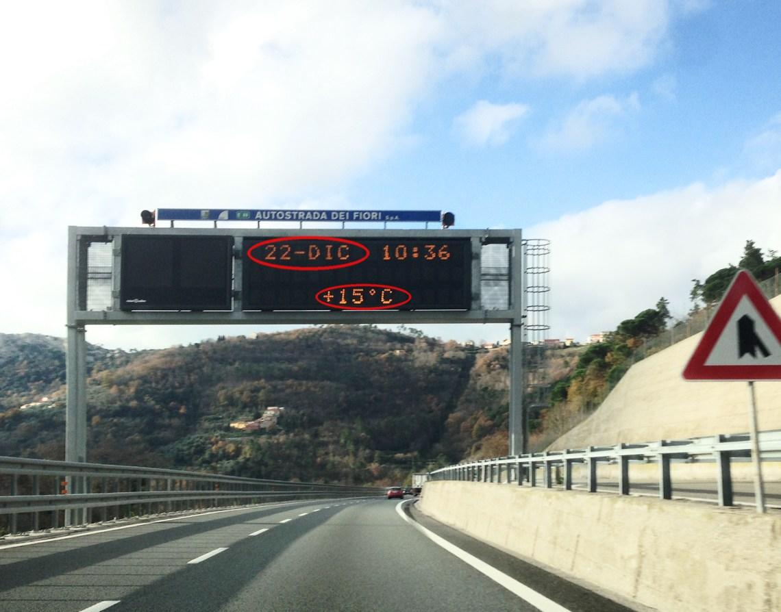 angenehme Temperaturen im Winter an der Côte d'Azur