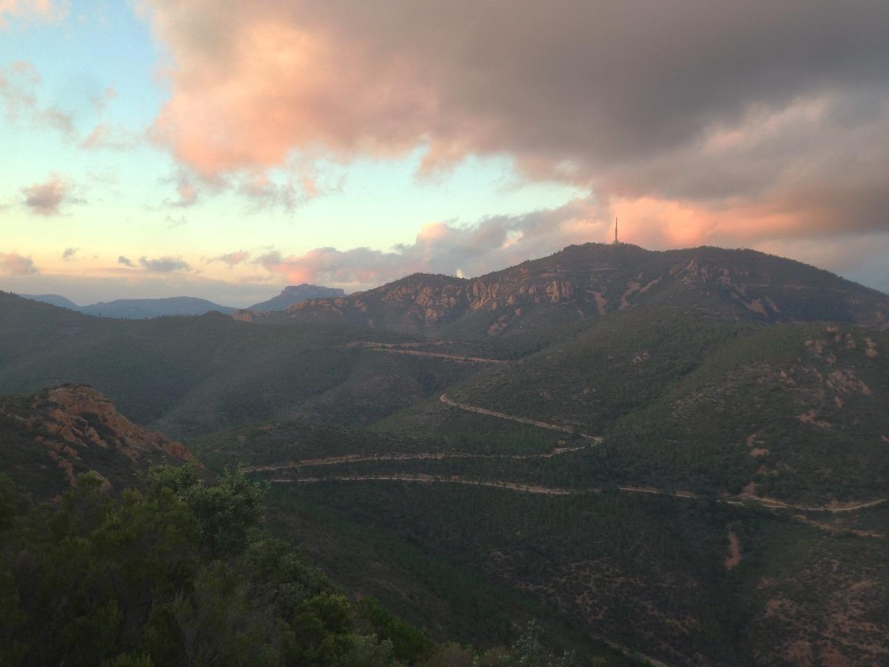 Blick über das Massif de L'Estérel
