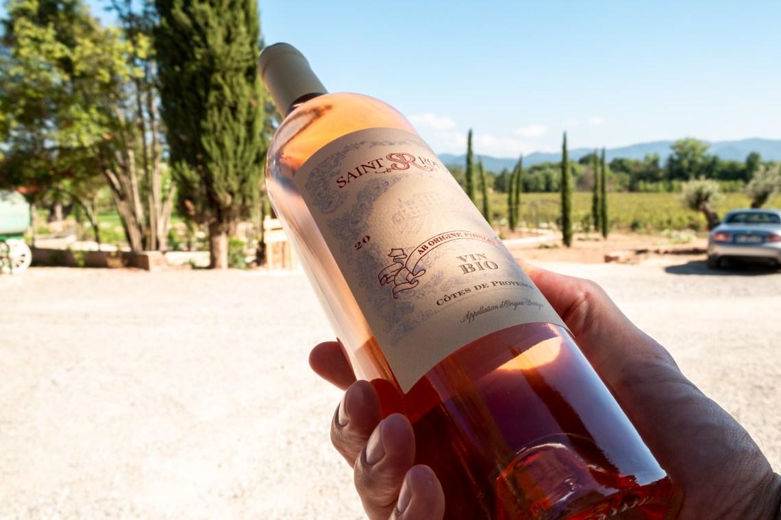 in der Region wird überwiegend Roséwein produziert