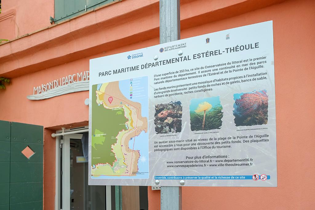 Die Bucht von Theoule steht unter Naturschutz