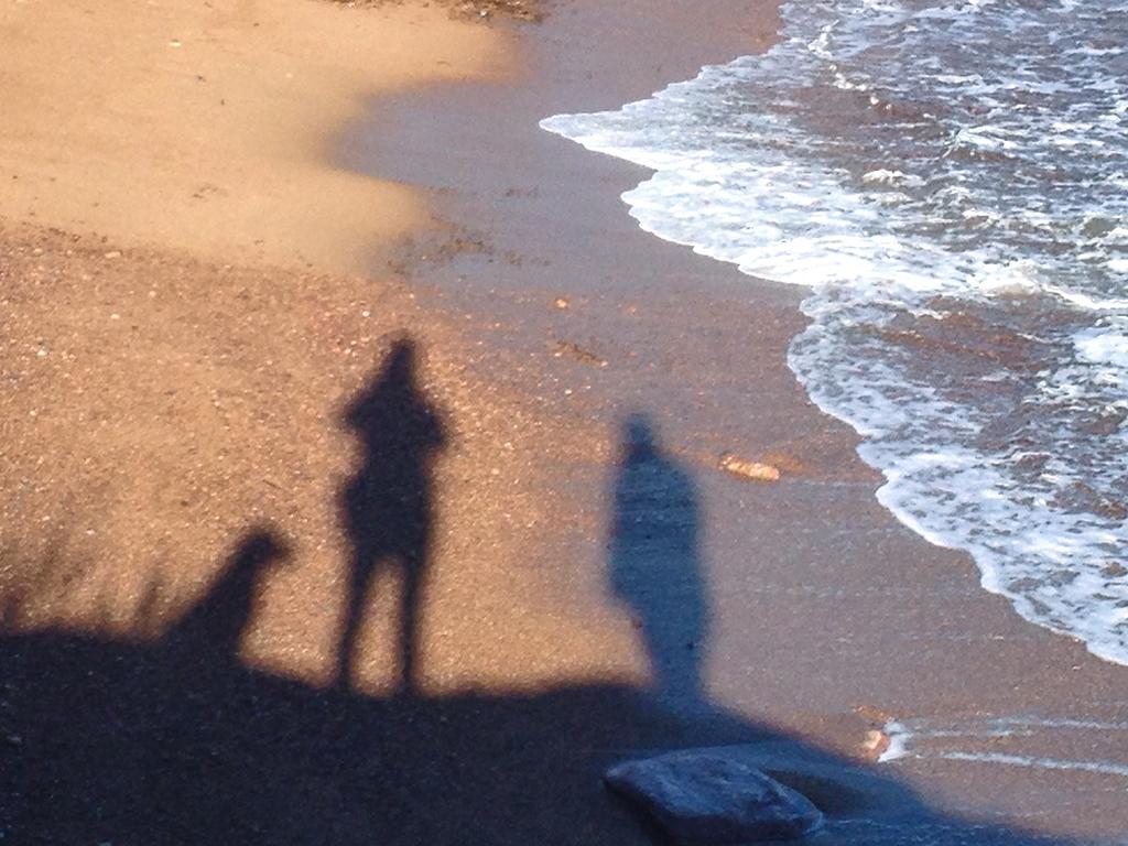 Selbstportrait am Strand