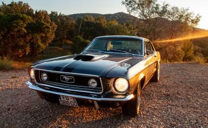 Azur Classic Car Rental verleiht nicht nur den Ford Mustang