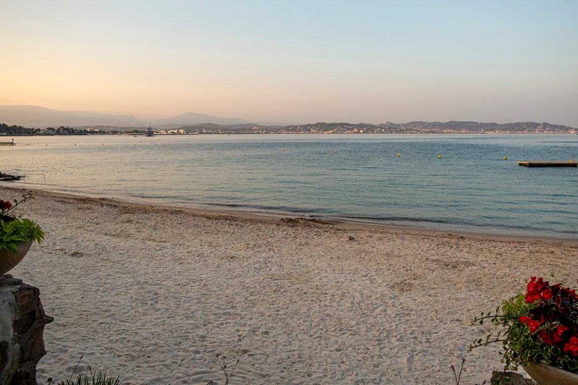 Abendstimmung an der Côte d'Azur