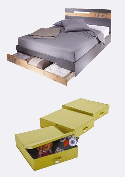rangement pour la chambre tete de lit