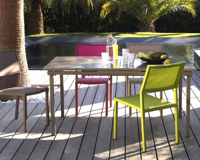 une table de jardin extensible et chic a moins de 190 euros