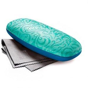 FEFI ® – Étui à lunettes – Femme – turquoise –