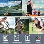 KuKoTi Lunette Cyclisme Polarisé aves 5 Verres interchangables, Lunettes de Sport UV400 pour Outdoor