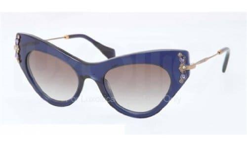 Miu Miu Lunettes de soleil Pour Femme 04P/S – 0AX-0A7: Blue