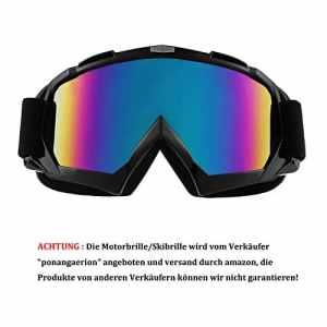 sijueam® Masque de ski haute qualité UV anti-buée Lunettes de protection avec rembourrage en mousse double Lens Uvex pour activités en extérieur Ski Cyclisme Randonnée Snowboard Protection des yeux Noir Schwarz-Type2