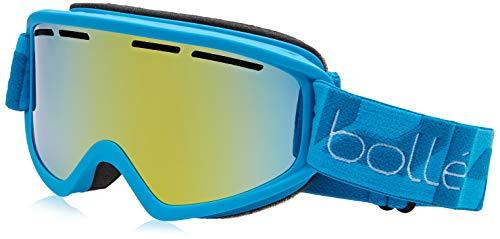 Bollé – SCHUSS – Masque de Ski – Mixte – Adulte – Bleu Mat/ sunshine – M