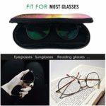 Ahdyr Étui à lunettes de soleil joyeux anniversaire carte de célébration lumière néoprène fermeture éclair étui à lunettes pour femmes hommes voyage