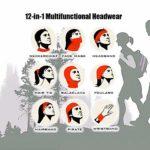 JONINOT Lèvres rouges aquarelle noir demi masque facial cagoule femmes hommes masque de Ski Bandana pour le cyclisme
