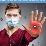 Lunettes de Protection, Chimie Sécurité de Lunettes Protection UV Anti-buée pour l'agriculture l'industrie et Le Laboratoire