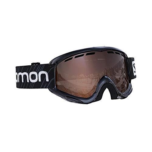 Salomon, Juke, Masque de ski pour enfants (6-12 ans), Noir/Universal Silver, L40847800