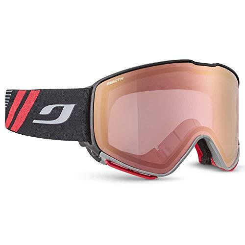 Julbo QUICKSHIFT OTG Masque DE Ski Adulte Unisexe, Noir/Rouge, XL