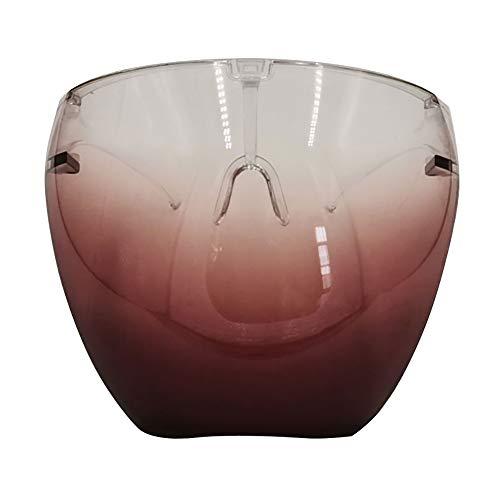 Masque Protecteur Facial, écrans faciaux réutilisables, très Grand Pare-éclaboussures pour Hommes et Femmes pour protéger Les Yeux et Le Visage