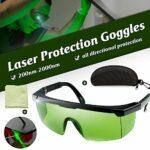 Kecheer OD4 Lunettes de protection laser 200 nm à 2000 nm + lunettes de protection élégantes