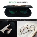 IUBBKI étui à lunettes Huit hommes Arrêtez-le! Étui à lunettes étanche avec mousqueton pour lunettes avec fermeture à glissière, étui souple pour lunettes de soleil portables, clip de ceinture
