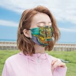 Best-design Masque de protection UV pour main de Fatima – Pour la pêche, la chasse, la course à pied, le ski