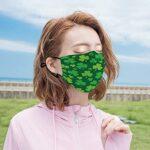 Best-design Masque UV trèfle pour la pêche, la chasse, la course à pied, le ski