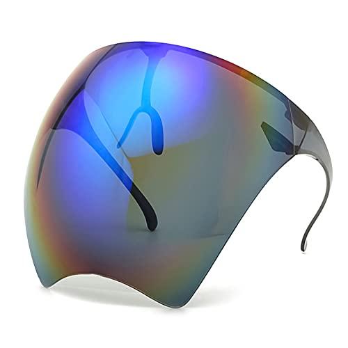Bingdong Masque de protection double face pour les yeux – Réutilisable – Anti-buée et anti-poussière – Pour les activités de plein air