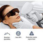 IPL Lunettes de protection lumière pulsée, lunettes de protection, lunettes de soleil, lunettes de sécurité, lunettes pour protection laser de beauté