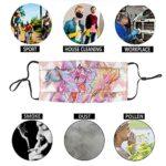 The Winx Club Masque de protection UV pour la pêche, la chasse, la course à pied, le ski