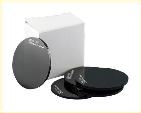 Lot de 5 paires de verres de rechange ronds 50 mm DIN niveau 12 pour lunettes de soudeur