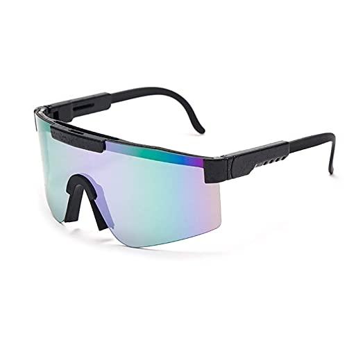 SNCAIZG Pit Vipers UV400 Sports Lunettes de Soleil polarisées Lunettes de Cyclisme pour Conduite Course pêche randonnée Golf Lunettes de Plein air pour Hommes Femmes