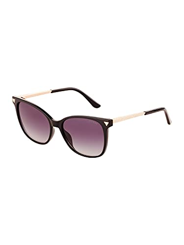 Guess lunettes de soleil GU7684-S 05B fumée Noire, taille 56 mm de Femmes