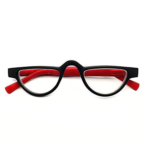 WWWL Lunettes de Lecture, Lunettes de Chat Lunettes de Lecture Femmes Hommes Presbyopia Lunettes de Vue presbytopique avec (Color : Red, Size : +200)