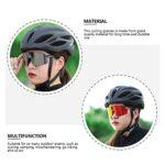 HUGMIN Lunettes De Vélo, Lunettes de Soleil à Coupe-Vent 1pc Verres de Sport à vélo Verres de vélo (Couleur Assortie) (Color : Assorted Color)