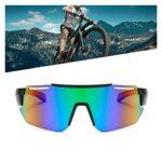 HUGMIN Lunettes De Vélo, Lunettes de Soleil à vélo Sports Po-larized Sports Vélo Verres de Vélo Vélo Vélo Vélos Vélos Vélos Hommes Femmes Vélo Eyewear (Color : B)