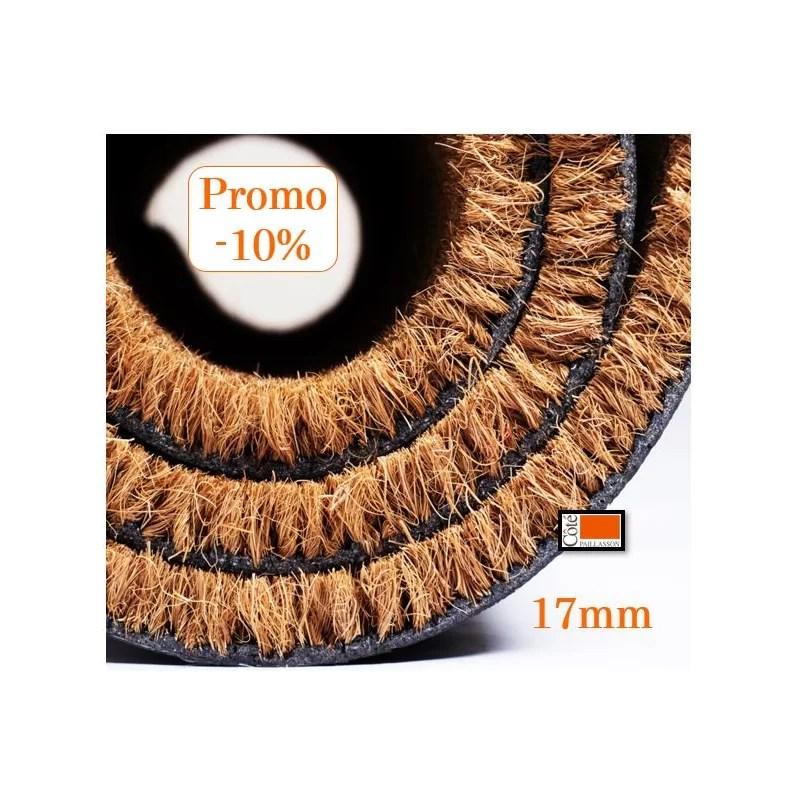 paillasson coco sur mesure paillasson epaisseur 17 mm tapis brosse coco 17 mm decoupe