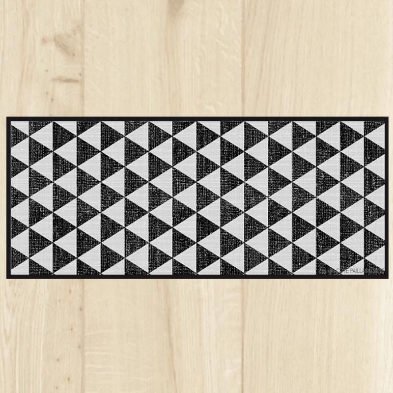 tapis carreaux de ciment tapis cuisine carreaux andalous carreaux noir et blanc