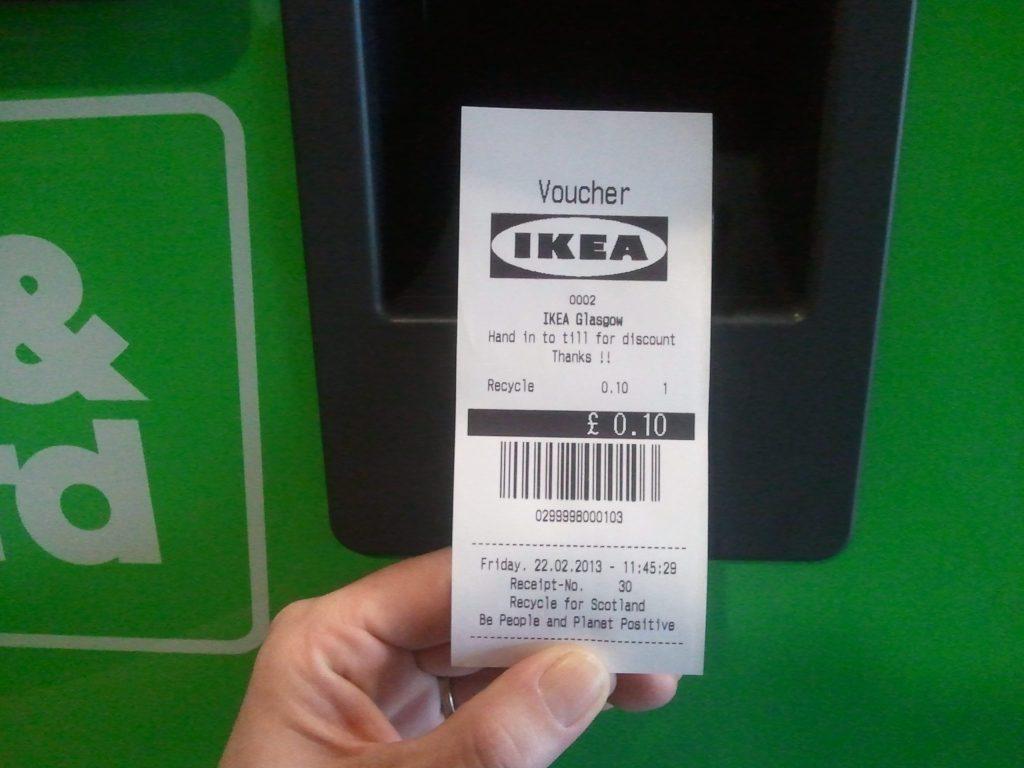recycled reward ikea