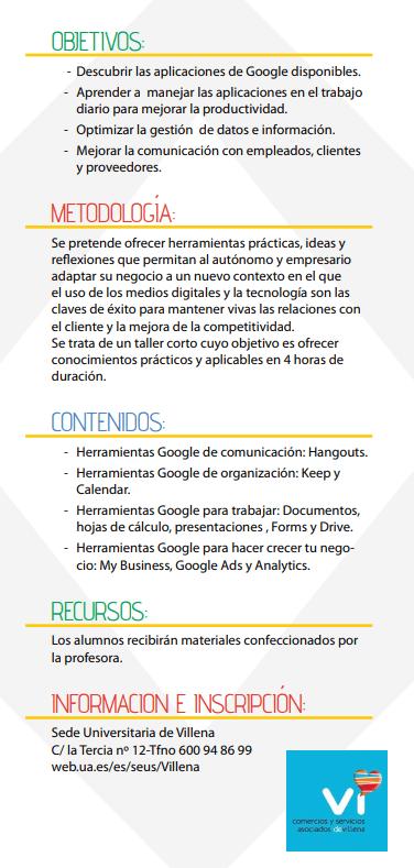 Taller Herramientas de Google para tu negocio_2