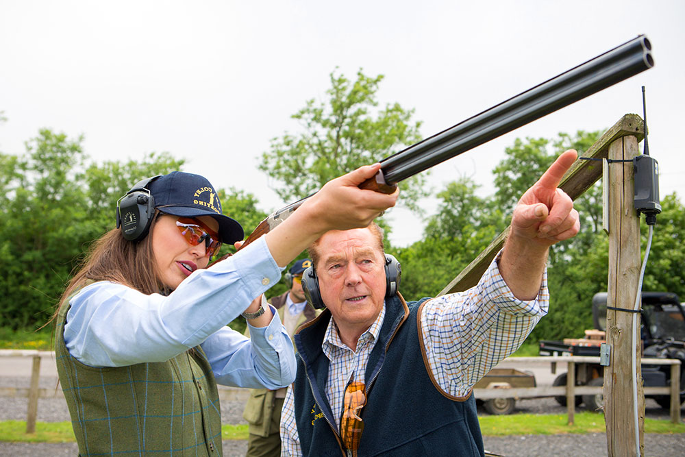 ian coley shooting school cheltenham cotswolds